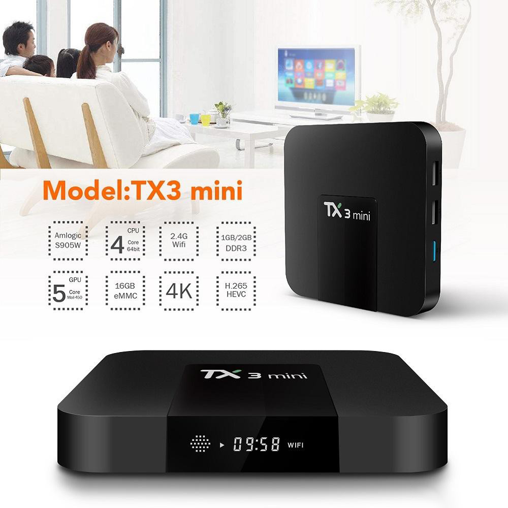 Android Tivibox TX3 mini