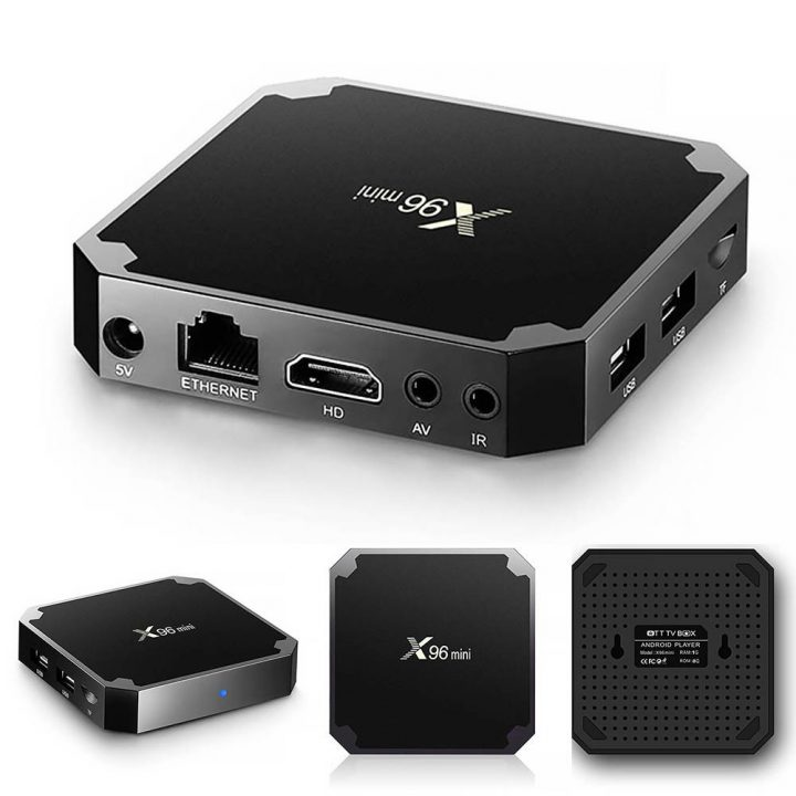 Android tv box giá rẻ - Tv box X96 mini
